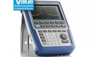 罗德与施瓦茨新一代手持式频谱分析仪R&S FPH